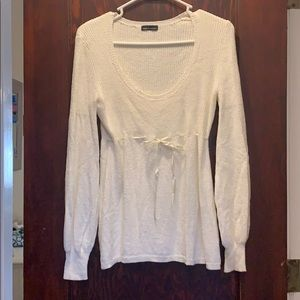Off white sweater